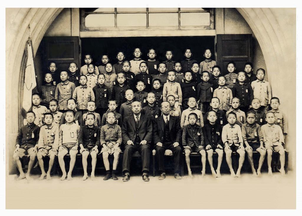 昭和16年頃・堺市立錦綾小学校